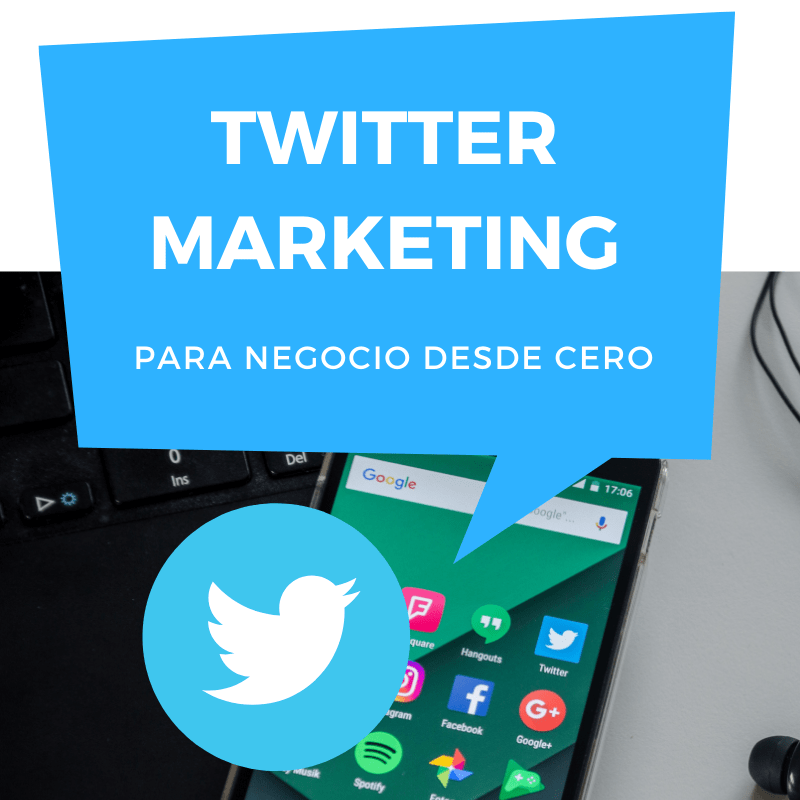twitter Marketing para Negocio curso online