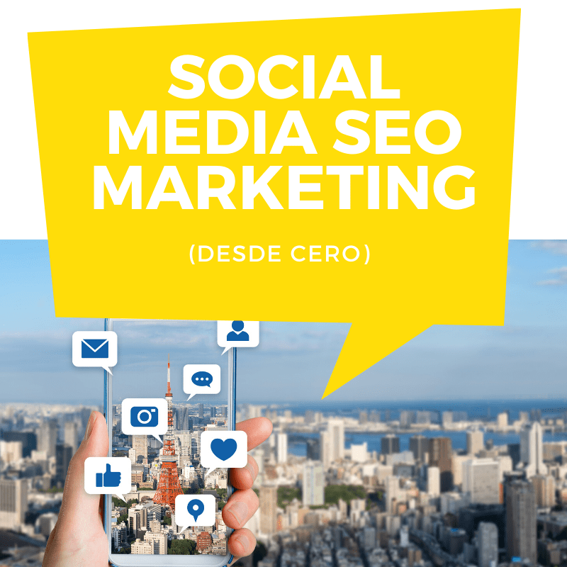 Social Media SEO Marketing curso online