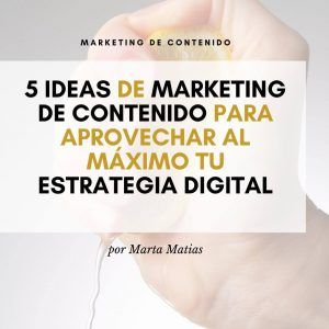 marketing contenido estrategia digital